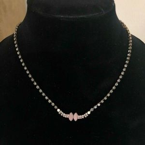 Petite Marquis Crystal Collar Necklace